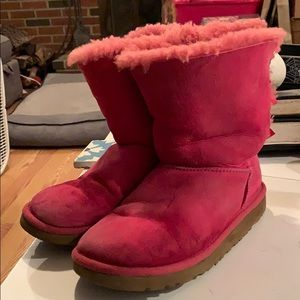 Pink Uggs size 3